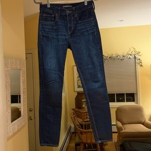 4S medium dark wash jeans